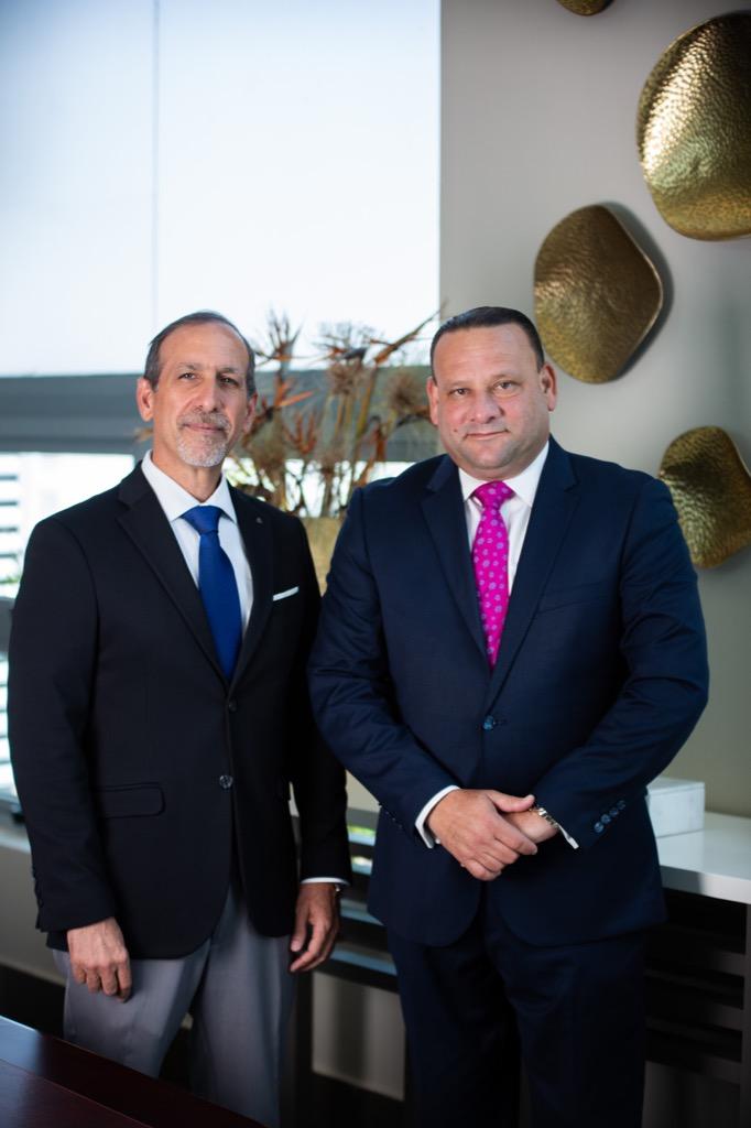 Juan Carlos Ortiz e Ismael Compres
